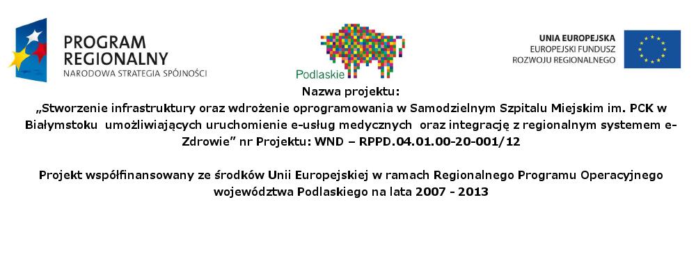 Program Regionalny Narodowa Stratego Spójności
